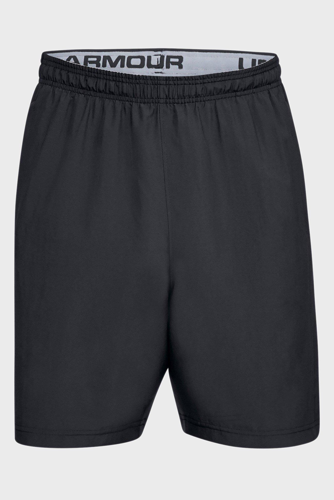 Купить Мужские черные шорты Woven Graphic Wordmark Short Under Armour Under Armour 1320203-001 – Киев, Украина. Цены в интернет магазине MD Fashion