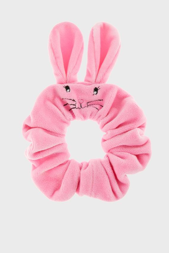Детская розовая резинка