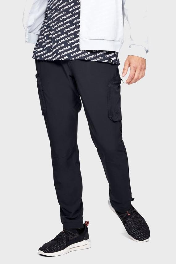 Мужские черные брюки UNSTOPPABLE WOVEN CARGO PANT