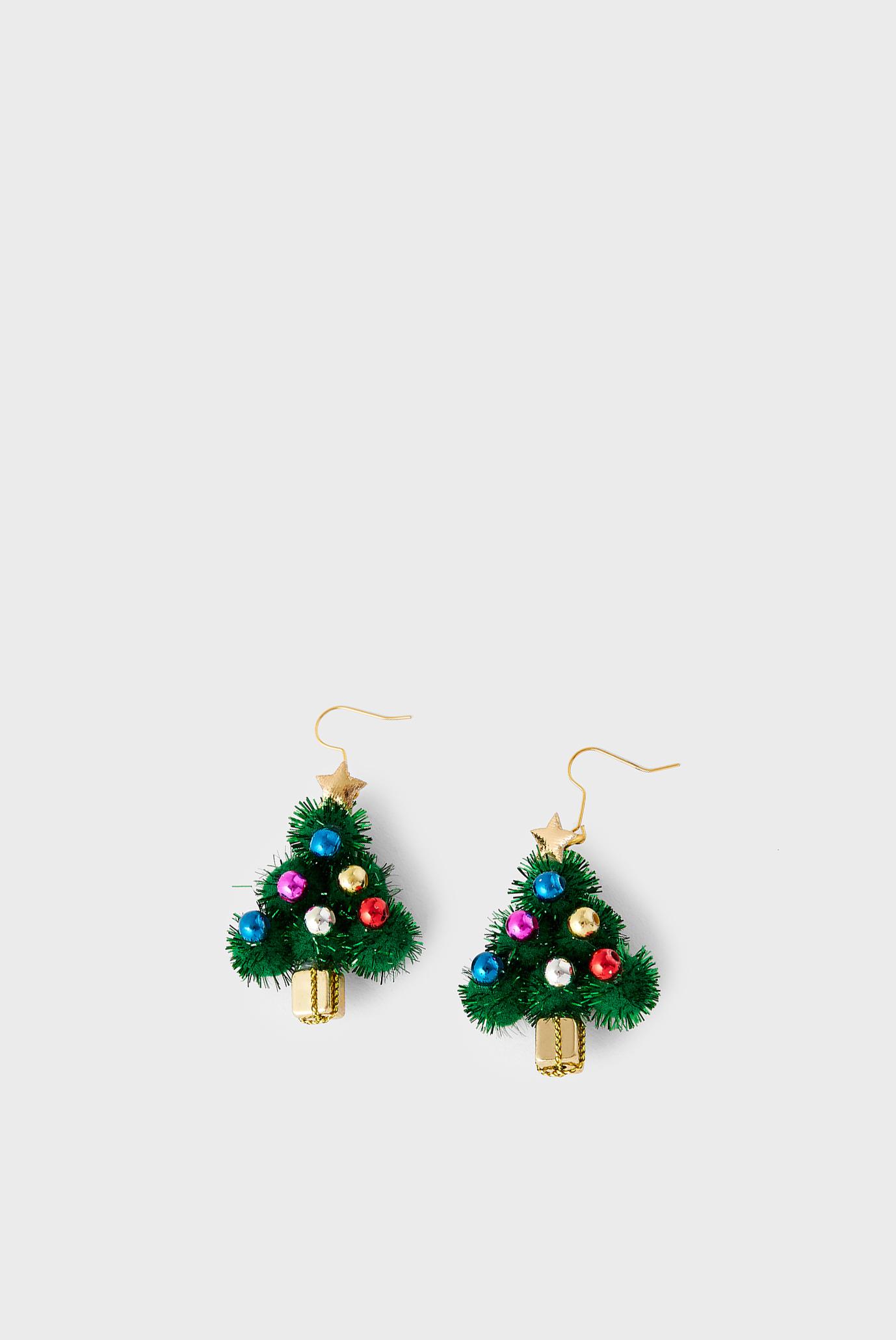 Жіночі сережки CHRISTMAS TREE EARRI 1