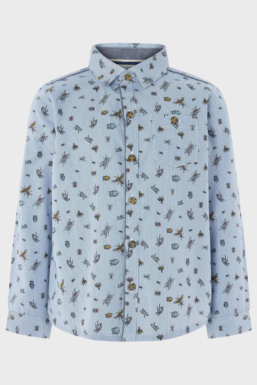 Детская голубая рубашка Laurence Bug Shirt