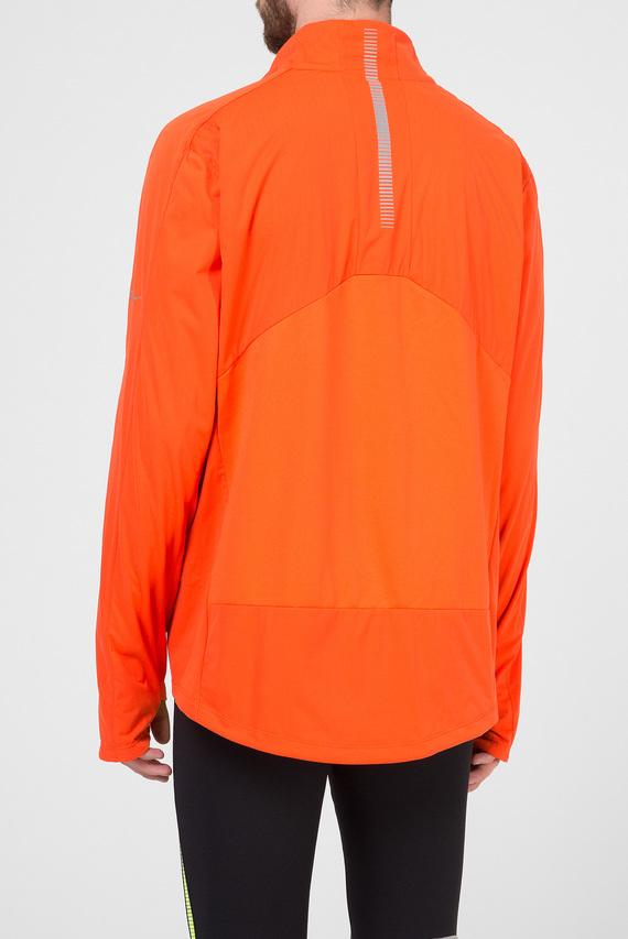 Мужская оранжевая ветровка