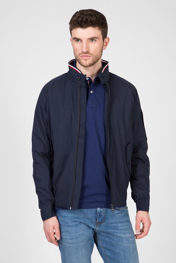 Мужская темно-синяя куртка STRETCH HARRINGTON