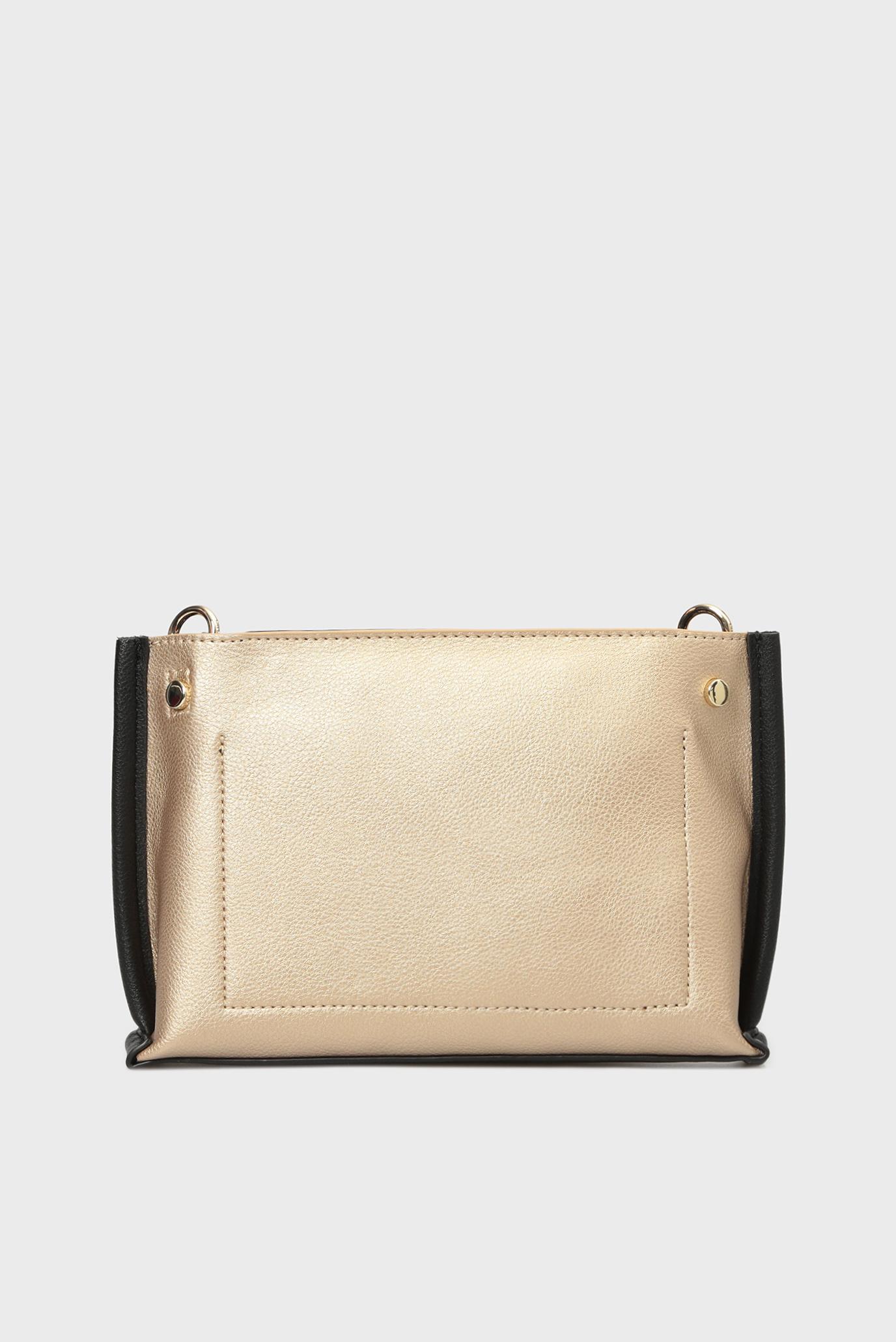 Купить Женская золотистая сумка через плечо TOMMY CHAIN CROSSOVER Tommy Hilfiger Tommy Hilfiger AW0AW05812 – Киев, Украина. Цены в интернет магазине MD Fashion