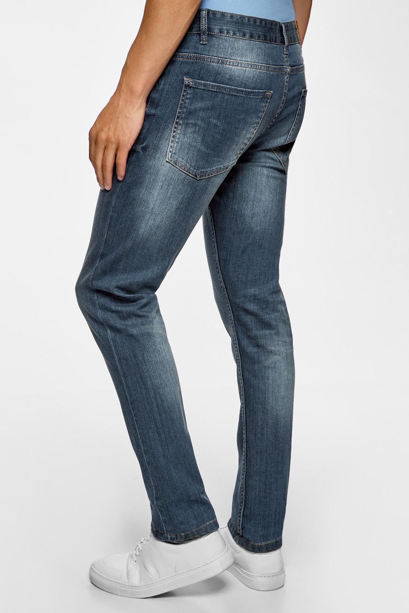Купить Мужские синие джинсы Skinny Oodji Oodji 6L110048M/45808/7500W – Киев, Украина. Цены в интернет магазине MD Fashion