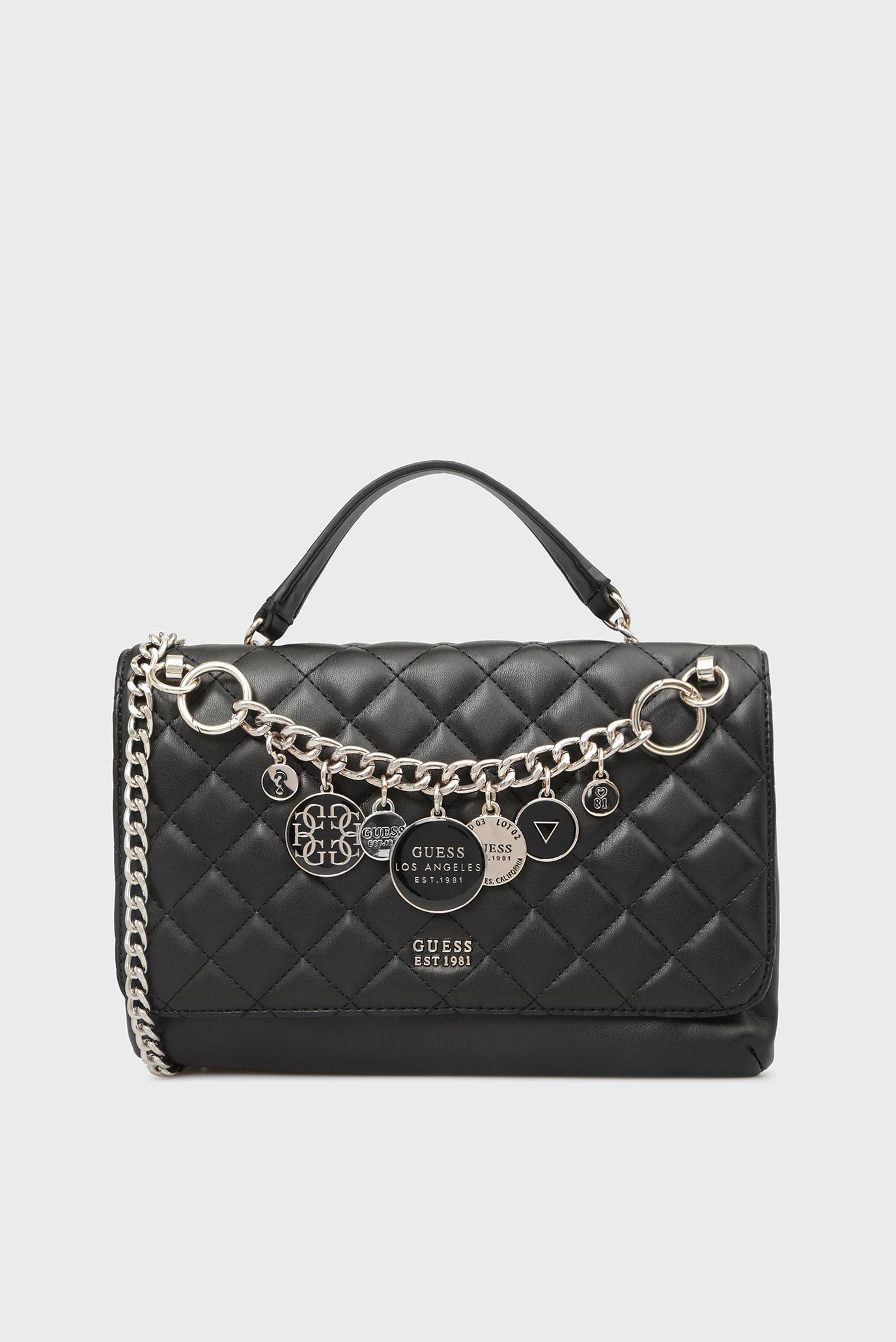 c090ce0df5b1 Купить Женская черная сумка через плечо Guess Guess HWVG7107210 – Киев,  Украина. Цены в интернет магазине MD Fashion