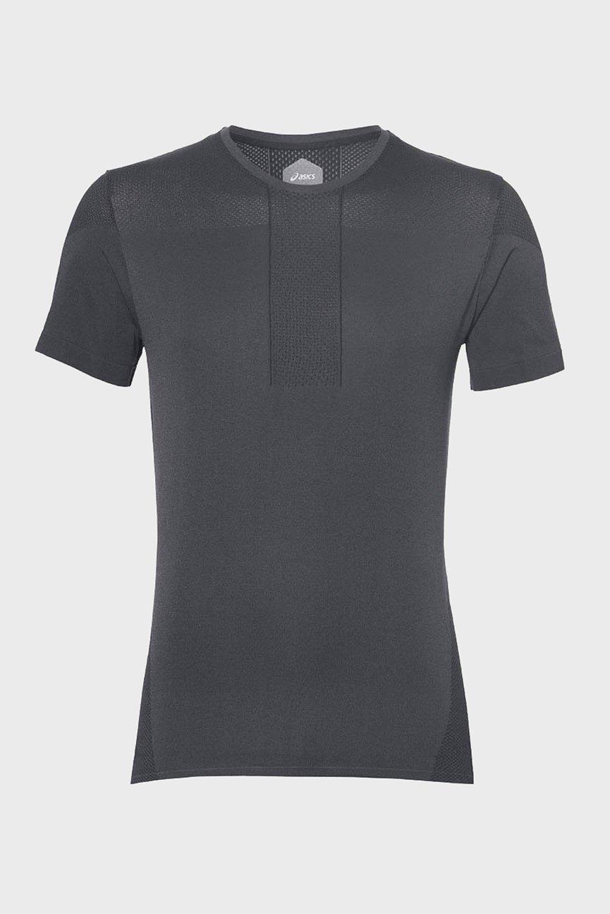 Мужская черная футболка GEL-COOL SEAMLESS SS