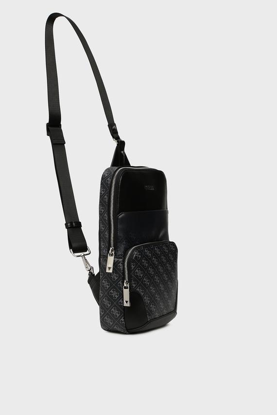 Мужская темно-серая сумка через плечо DAN 4G
