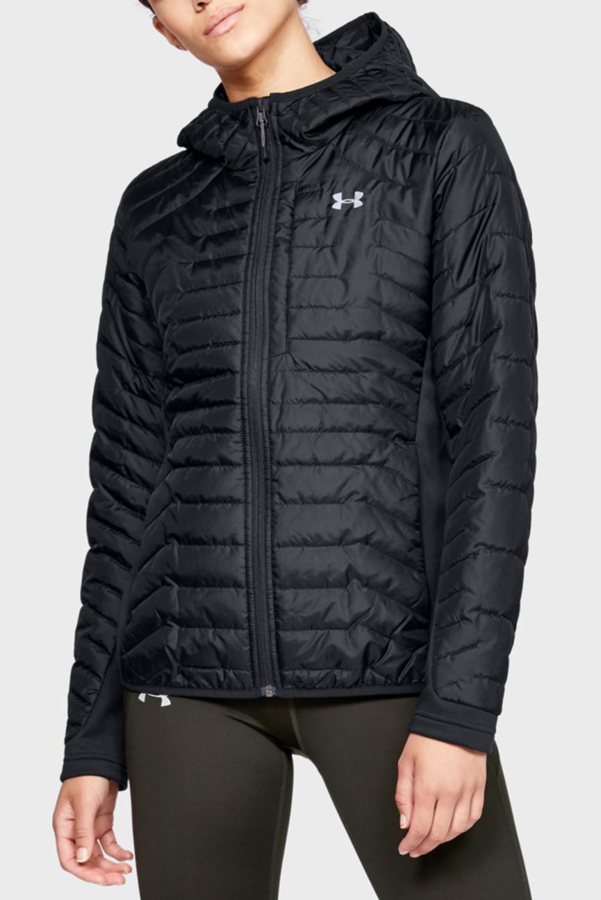 Женская черная куртка UA CG Reactor Hybrid Jacket