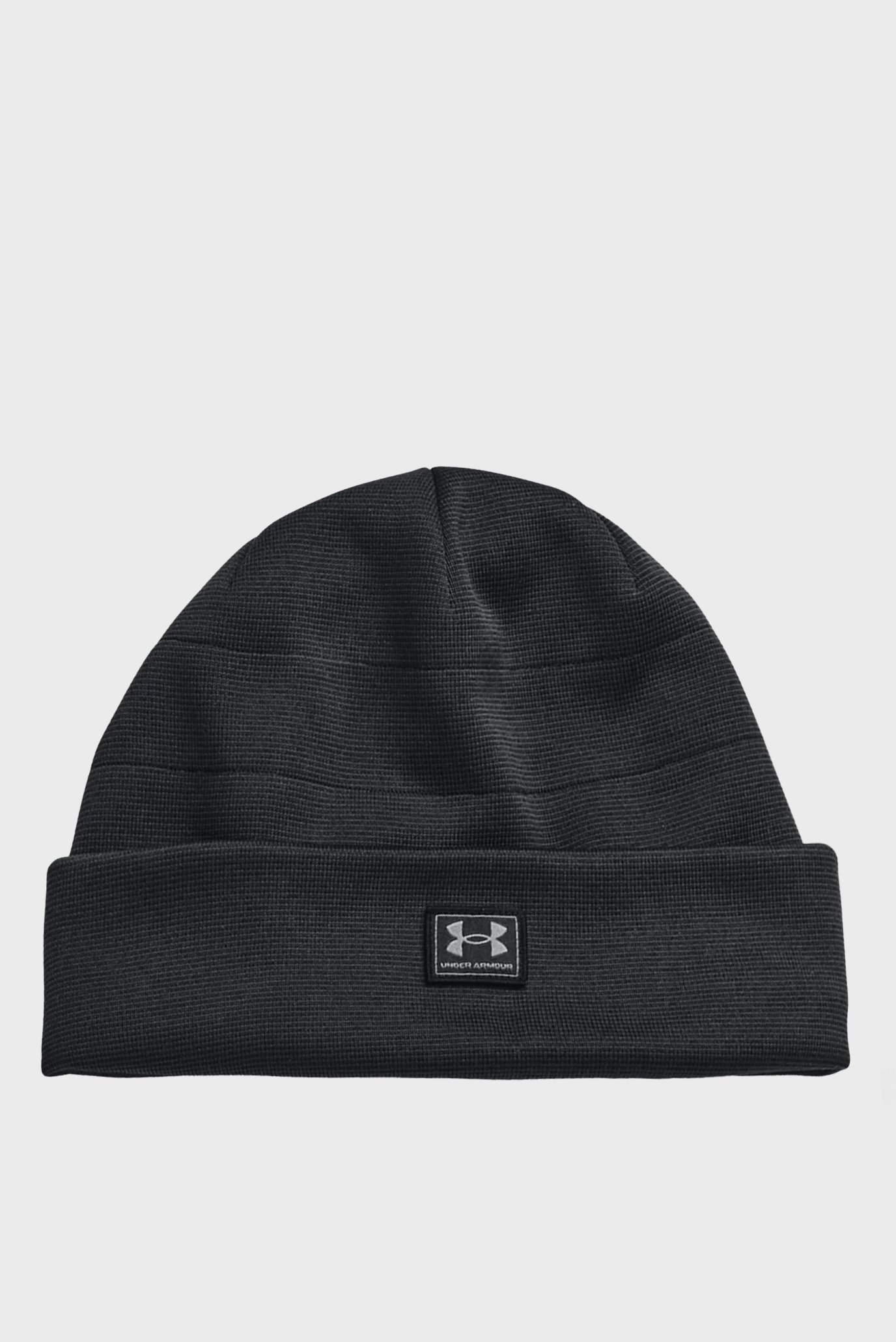 Мужская черная шапка UA Storm CGI Beanie 1