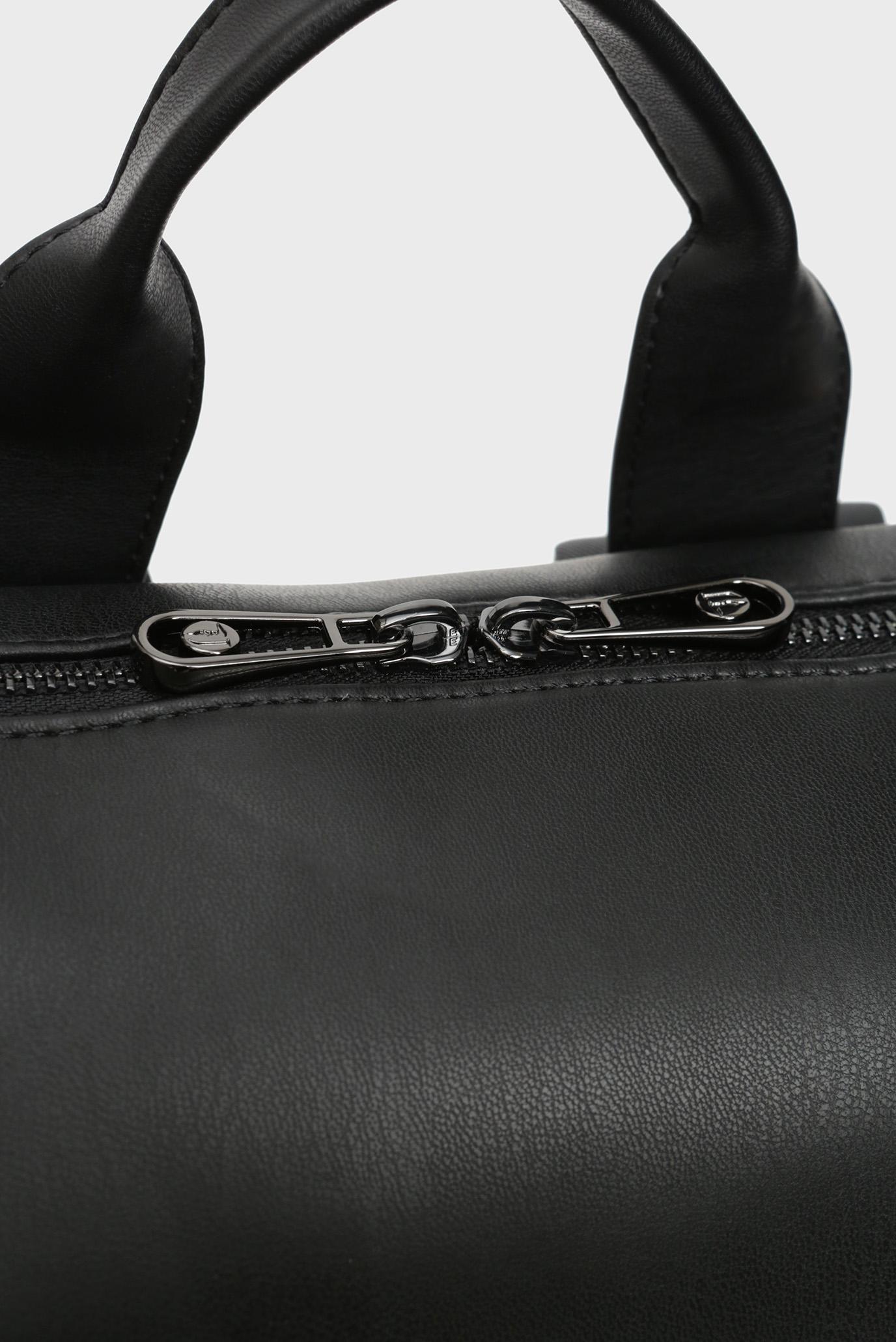 Мужской черный рюкзак BUSINESS CITY Trussardi Jeans
