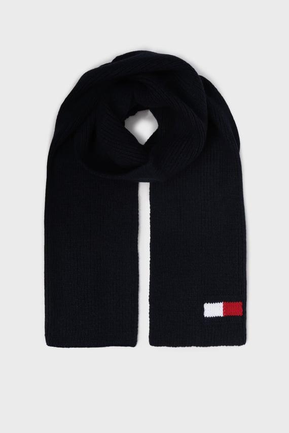 Мужской темно-синий шарф BIG FLAG