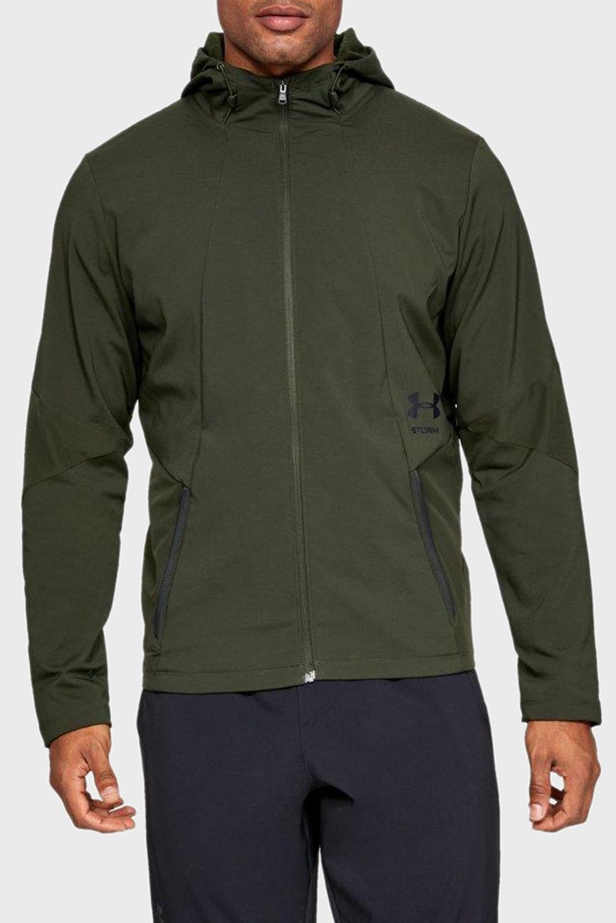 Мужское зеленое худи StormCyclone Jacket