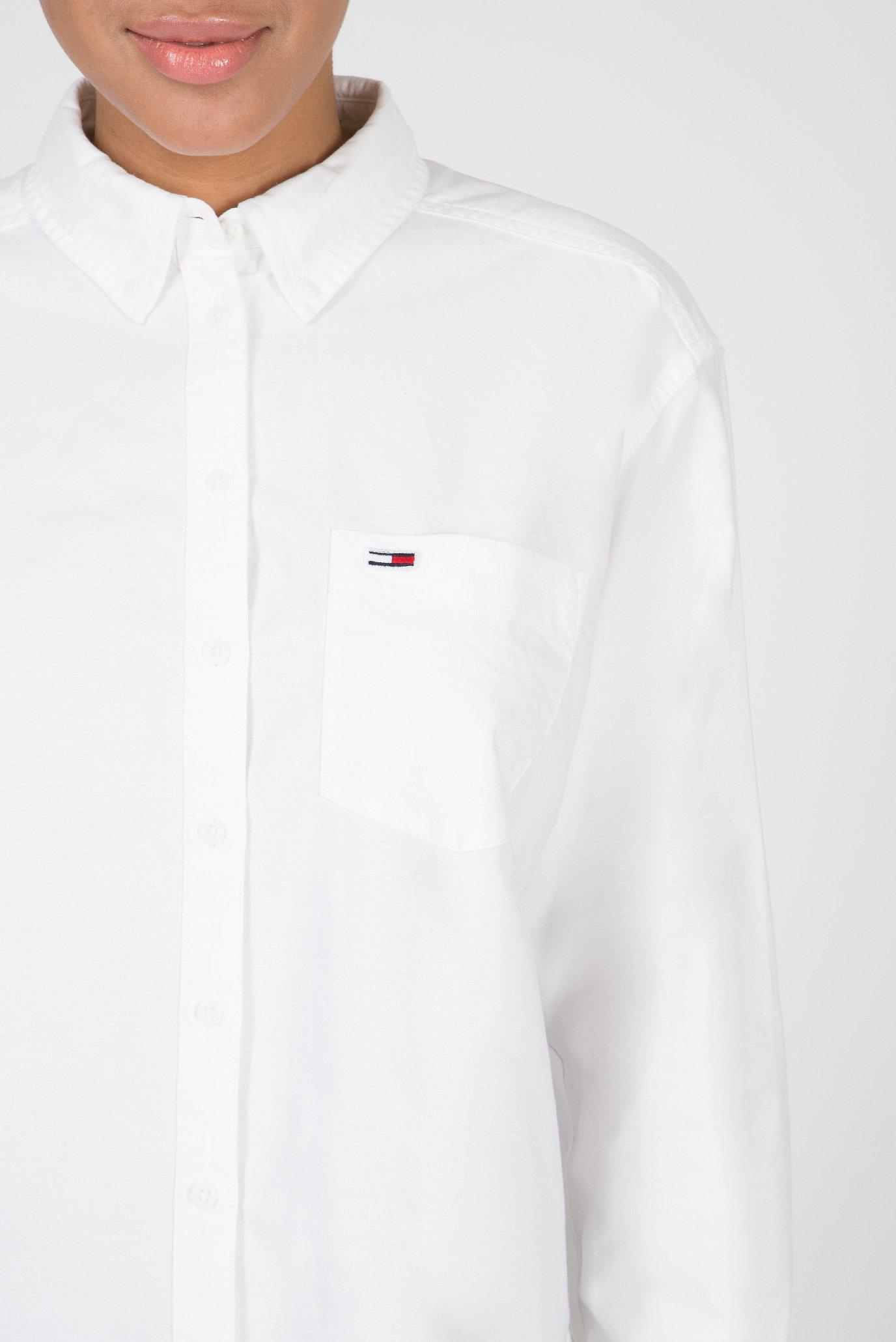 Купить Женская белая рубашка TJW CLASSICS Tommy Hilfiger Tommy Hilfiger DW0DW06511 – Киев, Украина. Цены в интернет магазине MD Fashion