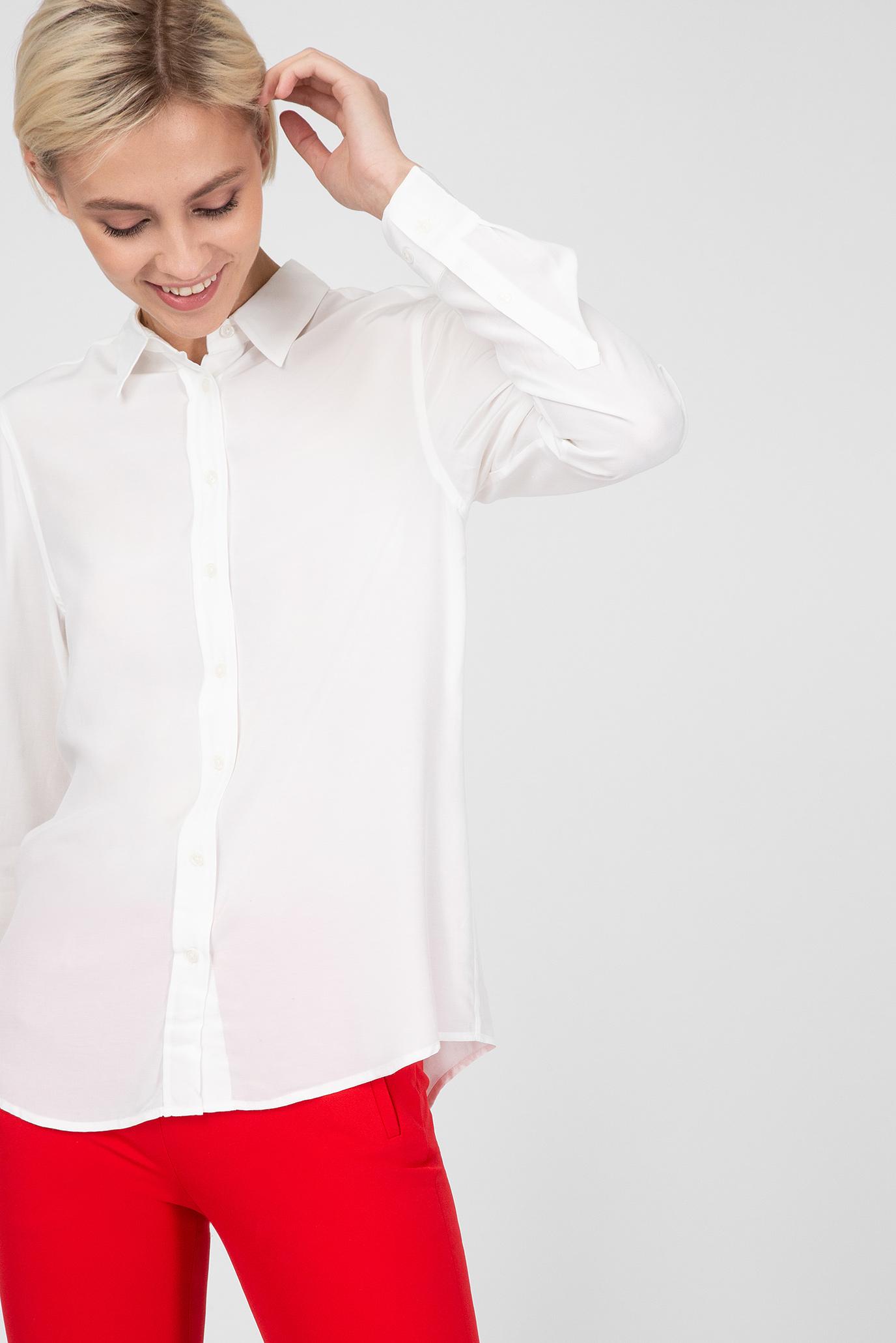 Купить Женская белая рубашка Gant Gant 4301060 – Киев, Украина. Цены в интернет магазине MD Fashion