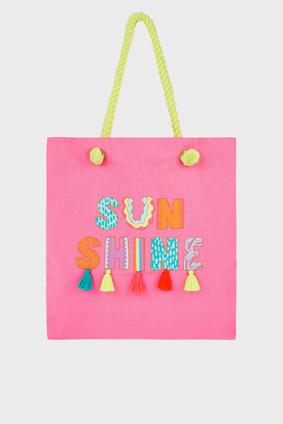 Детская розовая сумка SUNSHINE SHOPPER