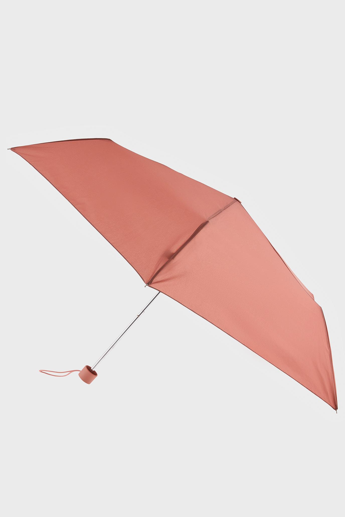 Женский персиковый зонт 1