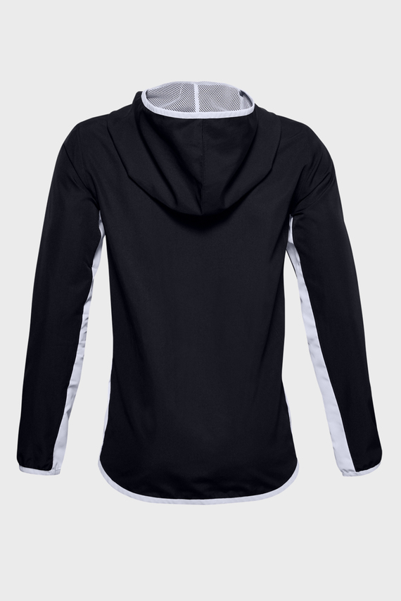 Мужская черная спортивная ветровка UA Woven Track Jacket