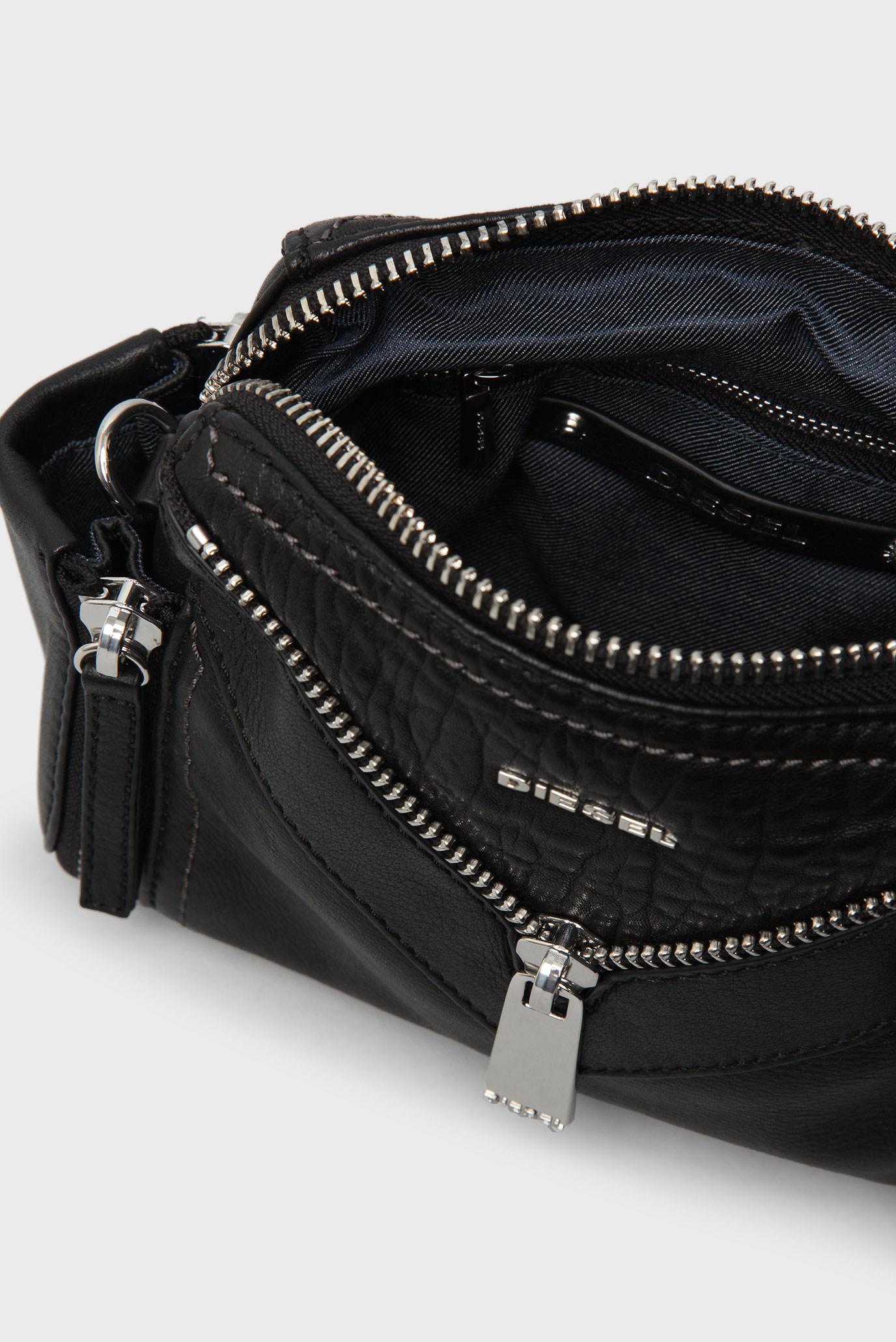 362e90c35e75 Купить Женская черная сумка через плечо Diesel Diesel X03891 P0804 – Киев,  Украина. Цены в интернет магазине ...