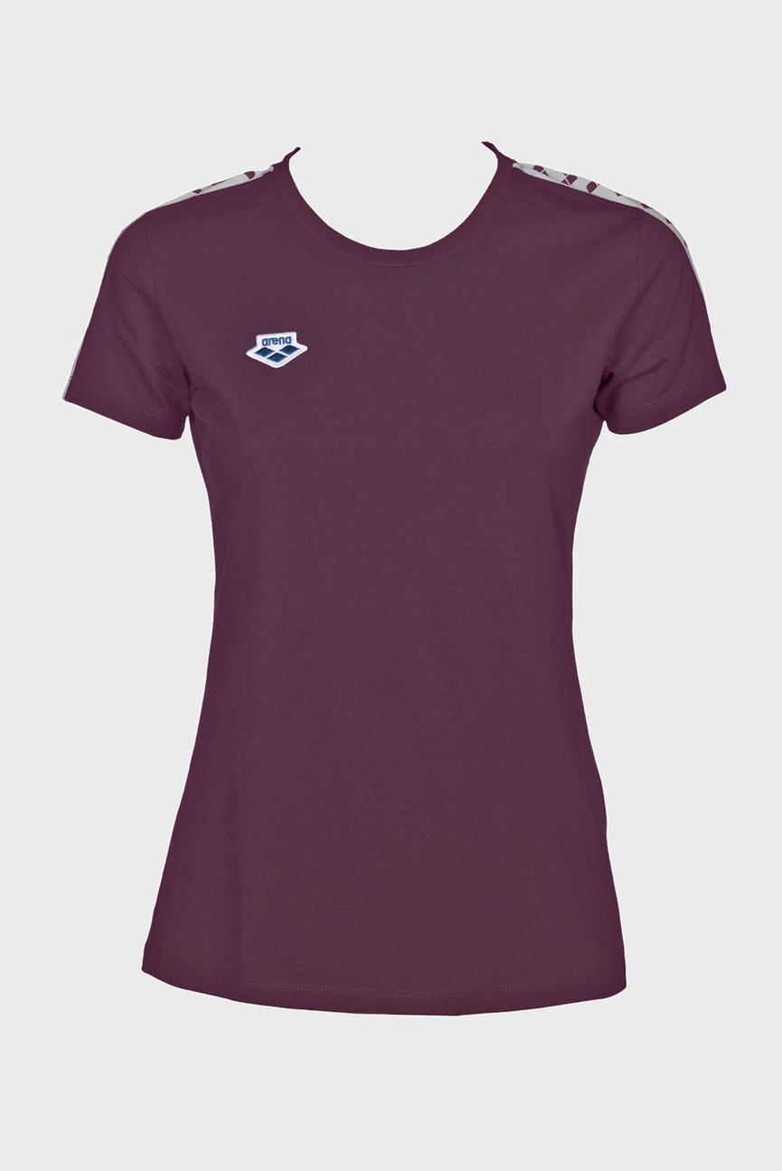 Женская фиолетовая футболка W T-SHIRT TEAM