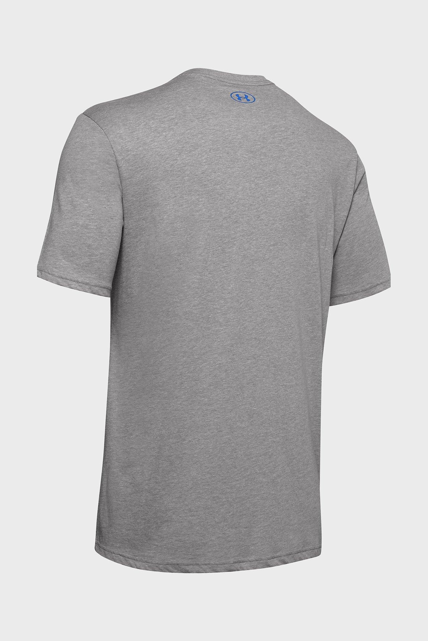 Мужская серая футболка UA GL Foundation SS T Under Armour