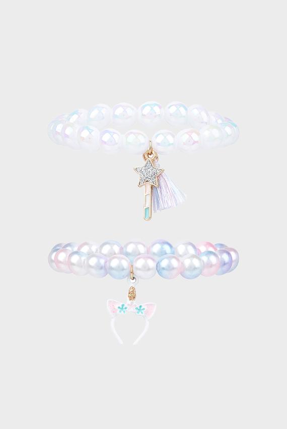 Детский браслет Pearly Rainbow (2 шт)