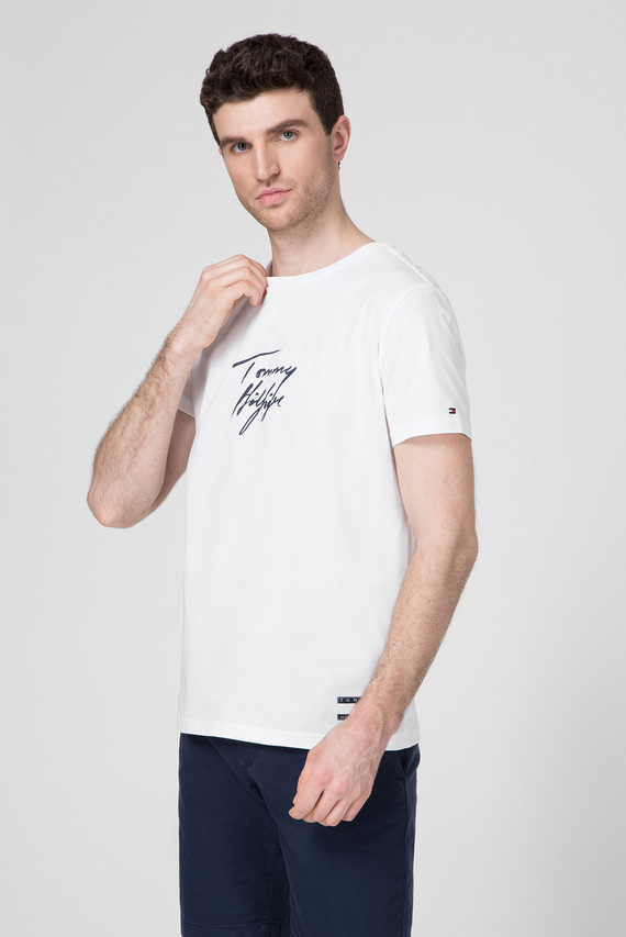 Мужская белая футболка CN SS