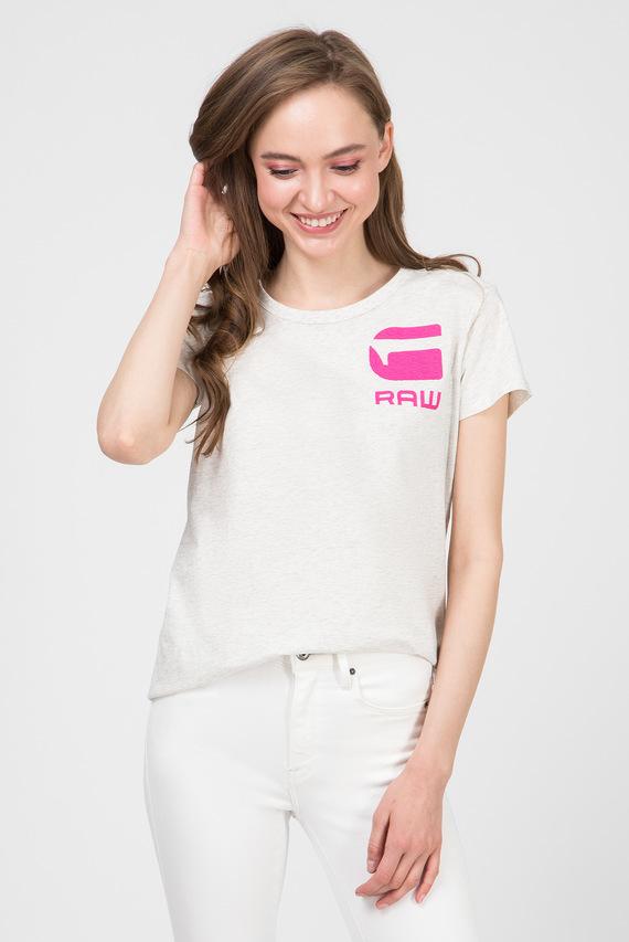 Женская серая футболка Gyre dialw