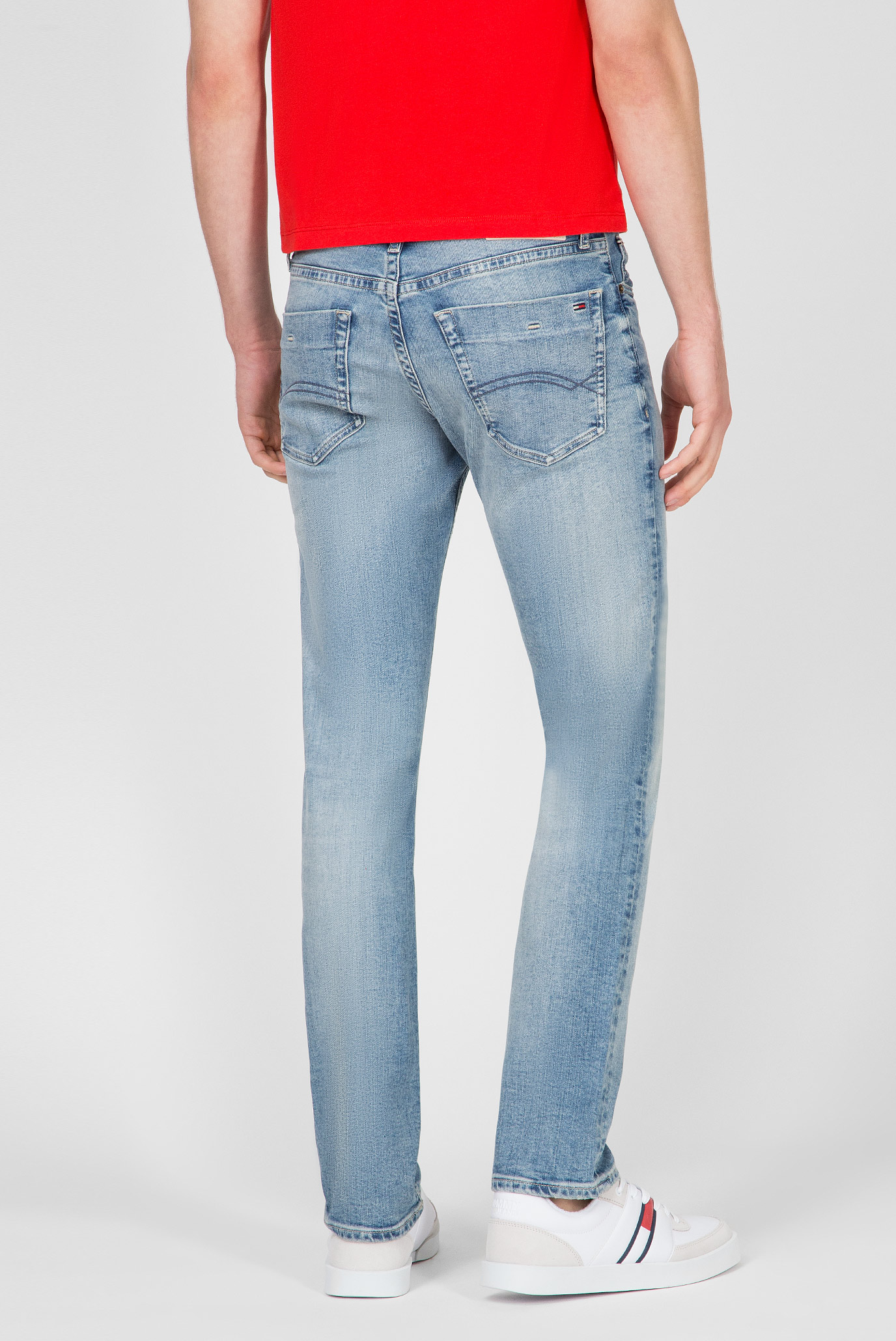 Мужские голубые джинсы SLIM SCANTON Tommy Hilfiger