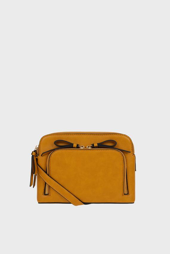 Женская оранжевая сумка TAYLOR DOUBLE ZIP XB