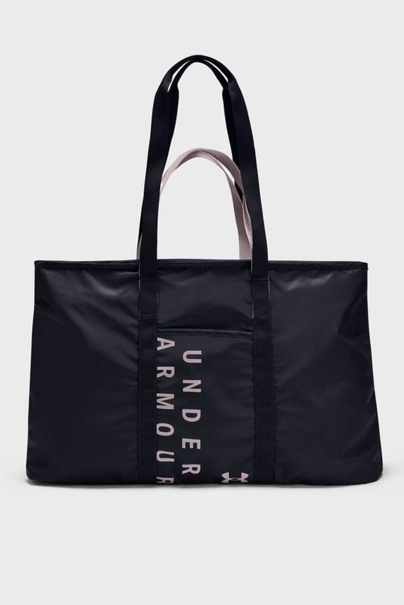 Женская черная спортивная сумка Women's Metallic Favorite Tote 2.0