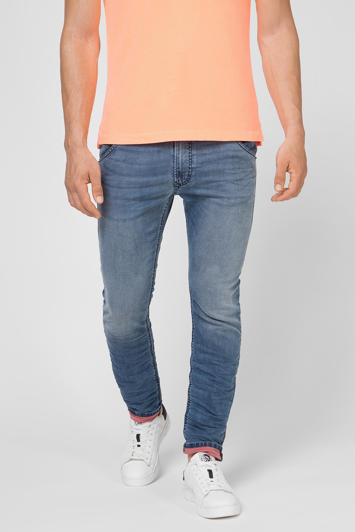 Мужские синие джинсы KROOLEY-X 1