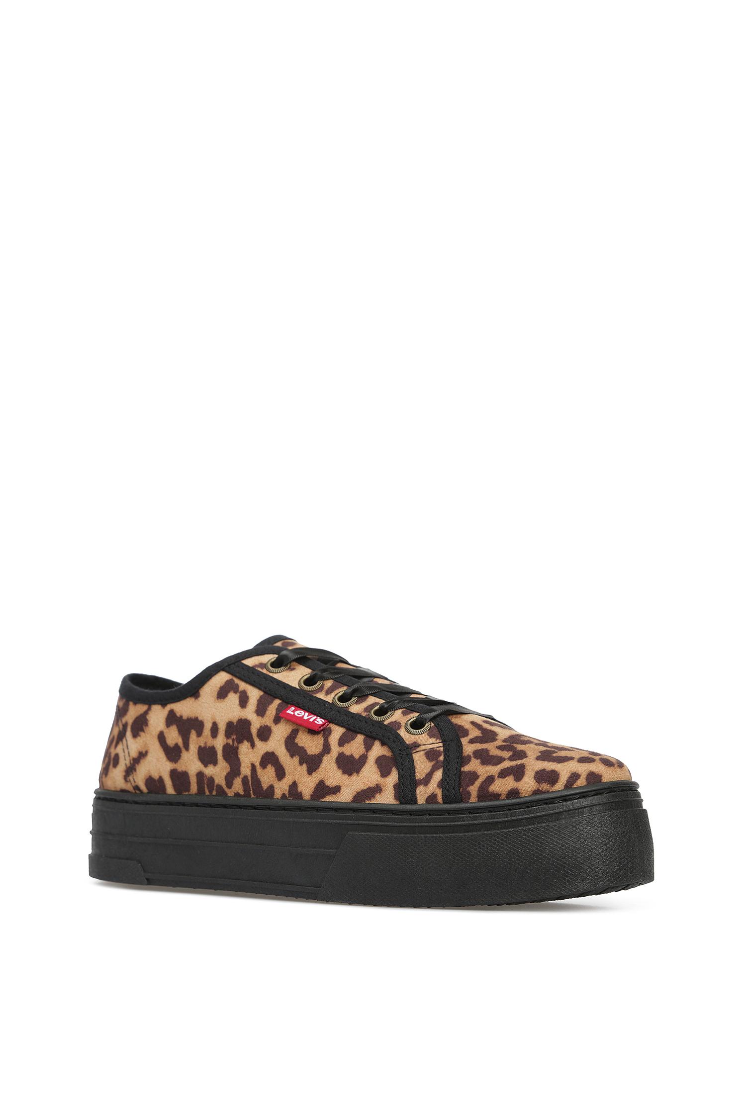 Женские леопардовые сникеры Levi's