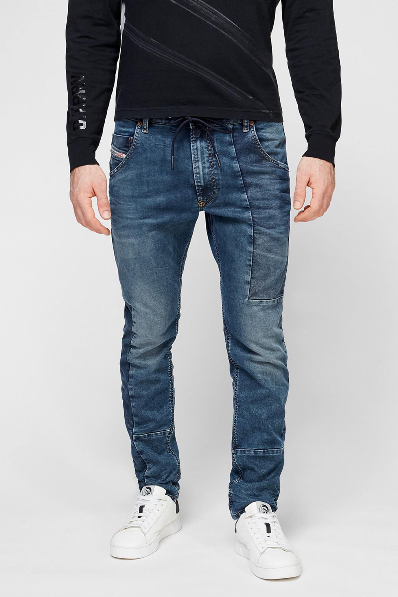 Мужские синие джинсы KROOLEY 1