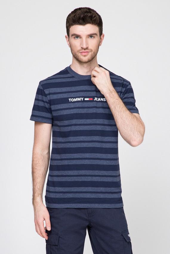 Мужская темно-синяя футболка в полоску TJM HEATHER STRIPE TEE