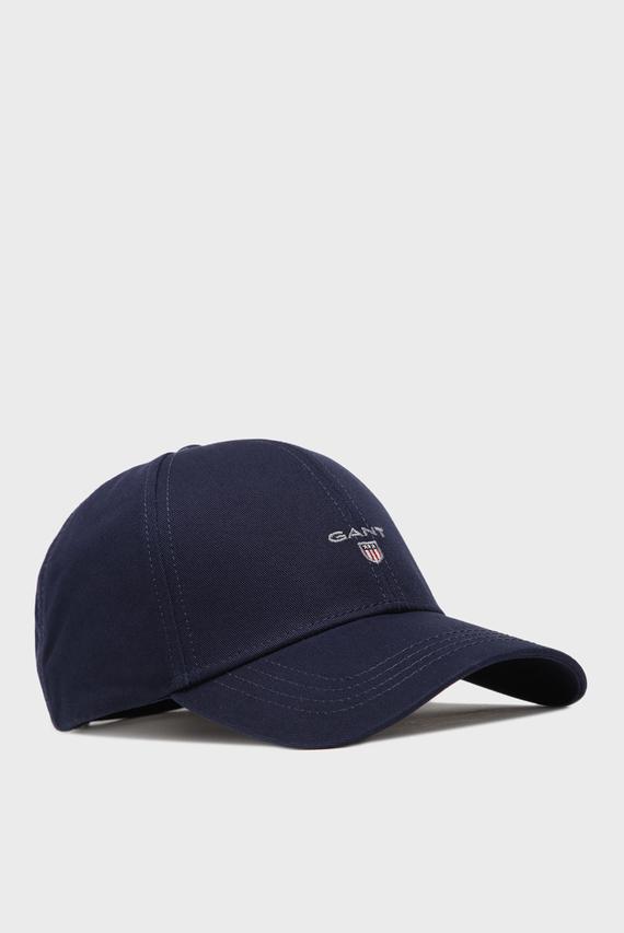 Мужская темно-синяя кепка GANT NEW TWILL