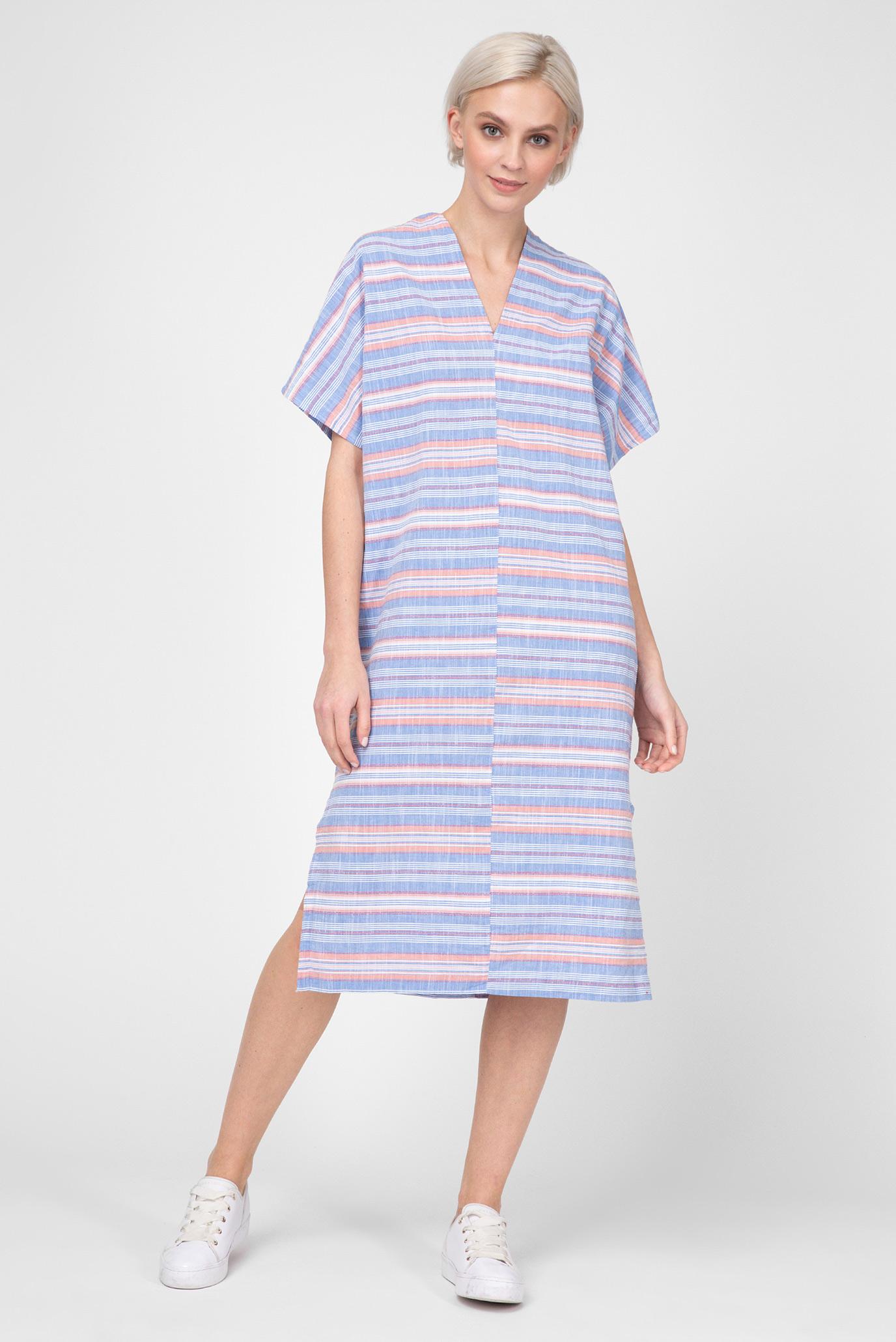 3ff83275905b Купить Женское голубое платье в полоску Gant Gant 4503054 – Киев ...