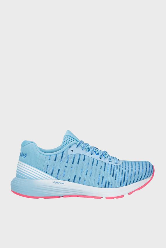 Женские голубые кроссовки DYNAFLYTE 3