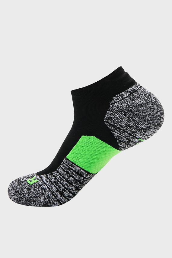 Мужские серые носки UA Run Cushion NS Tab