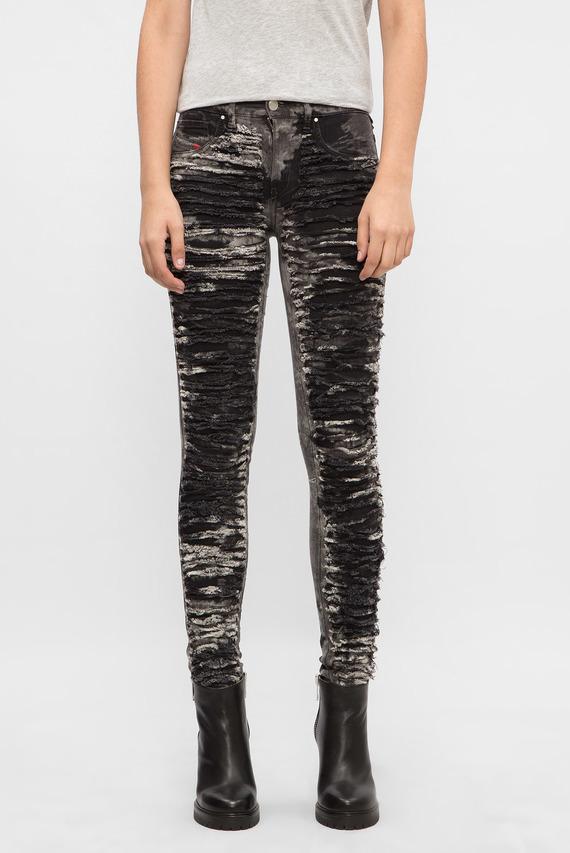 Женские серые джинсы DHARY