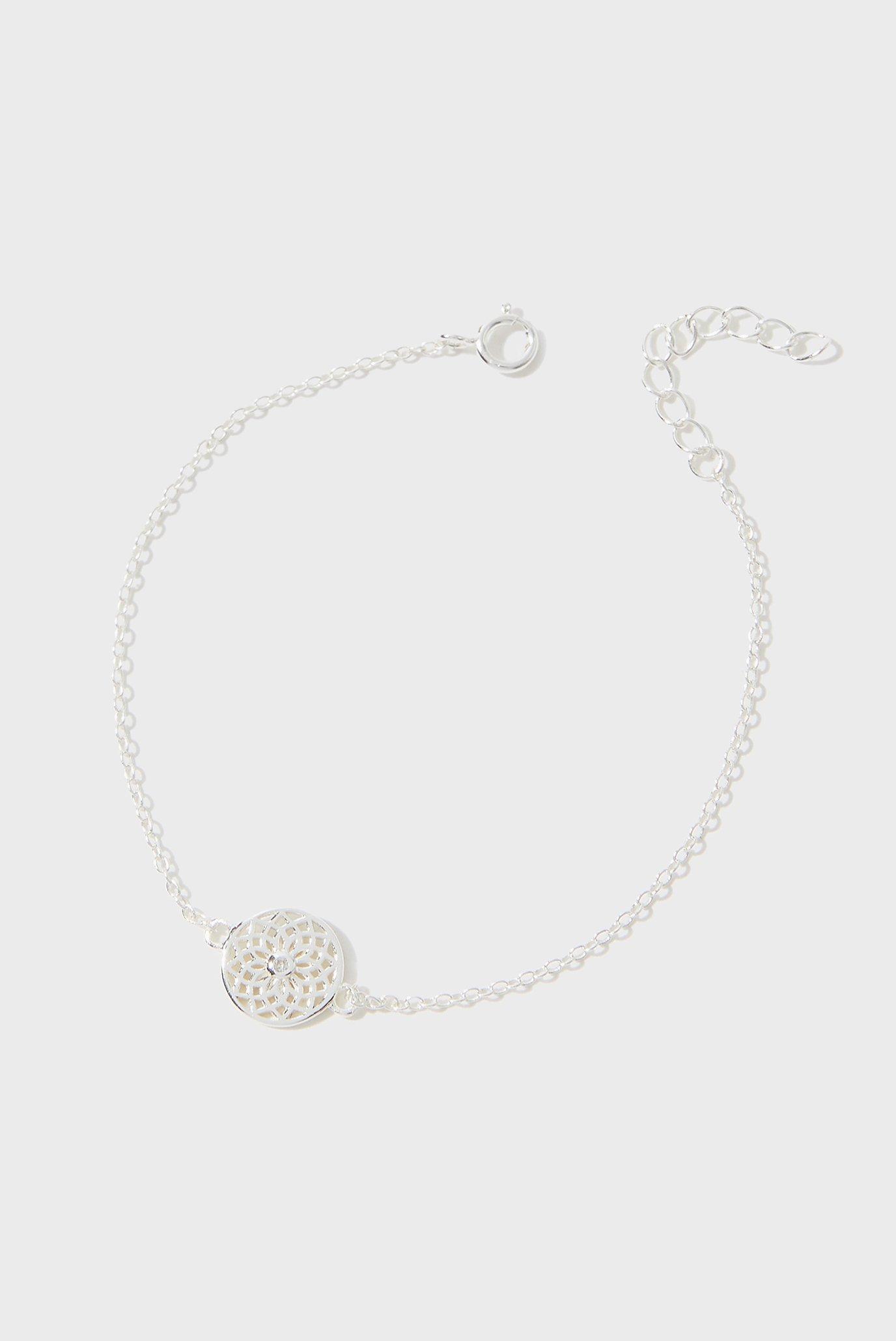 Женский серебряный браслет ST FILIGREE DISK BRA 1