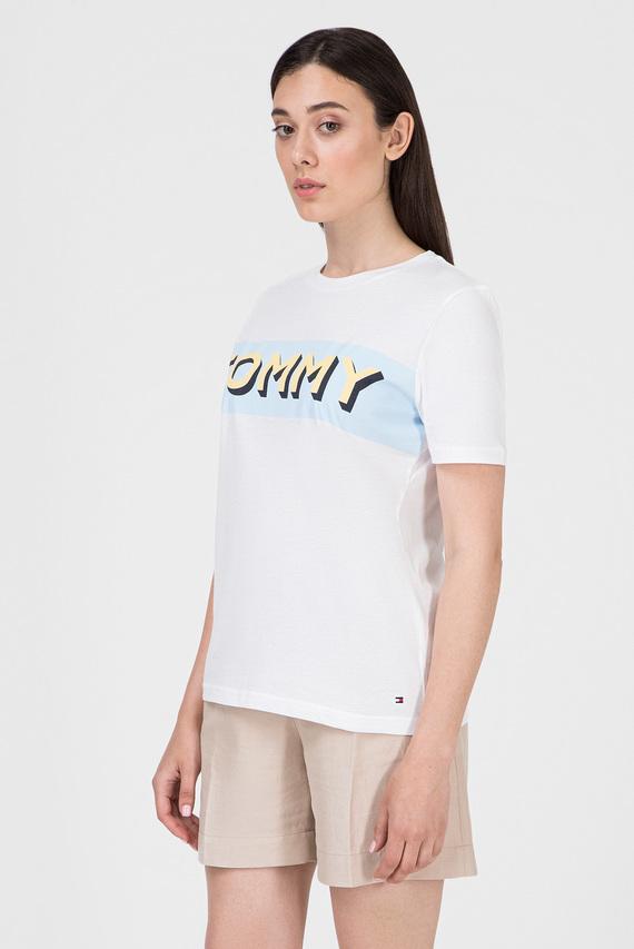 Женская белая футболка ERIN