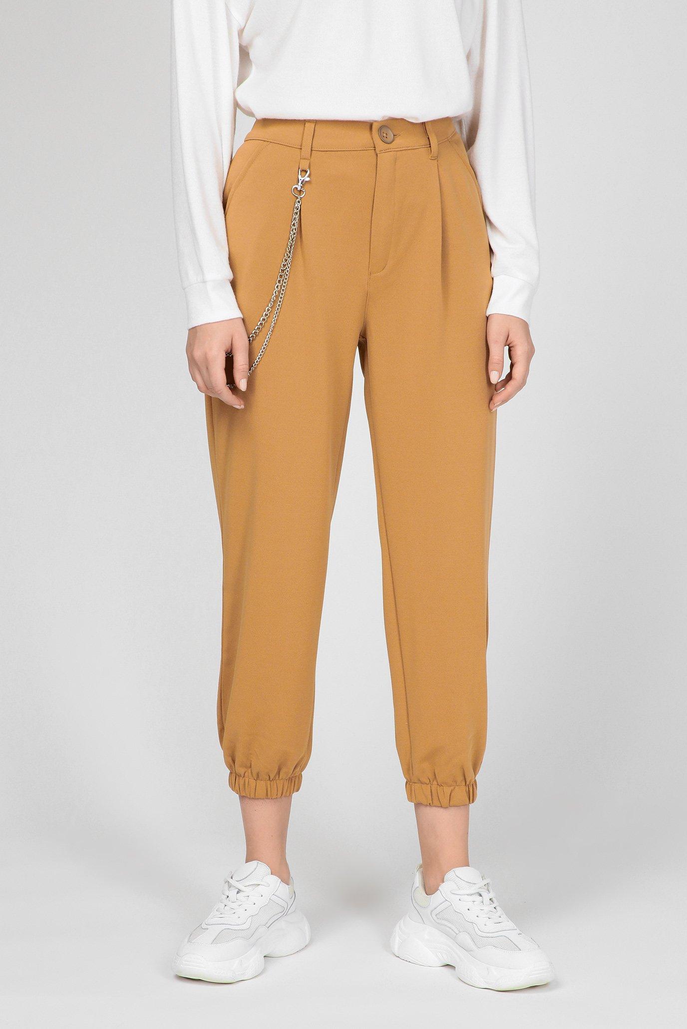 Жіночі бежеві брюки 1