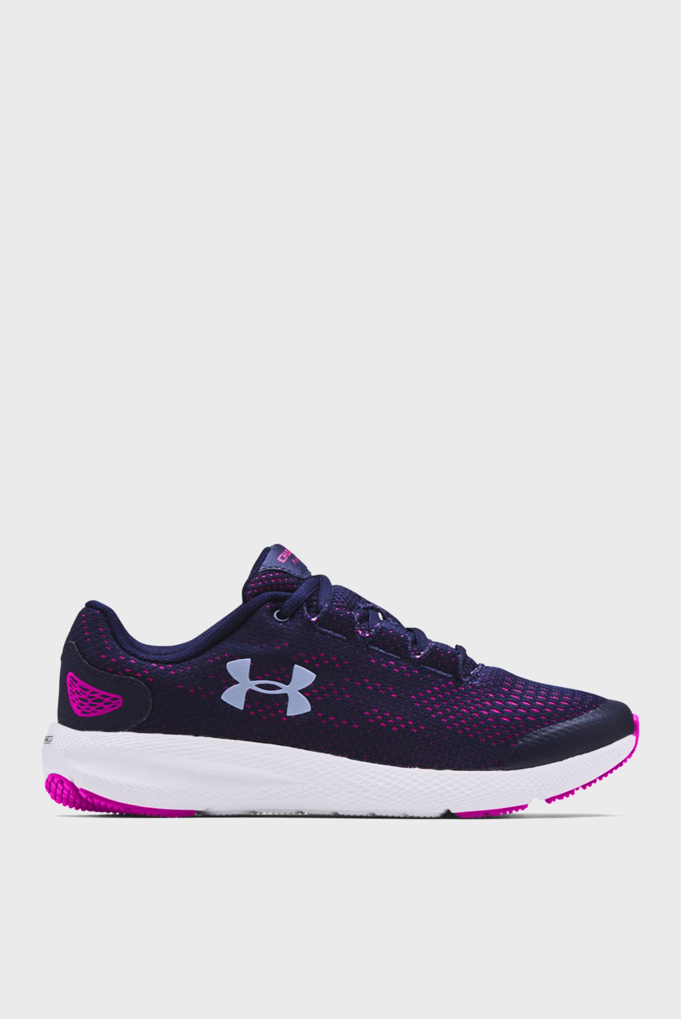 Дитячі фіолетові кросівки UA Charged Pursuit 2 1