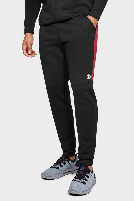Мужские черные спортивные брюки Athlete Recovery Fleece