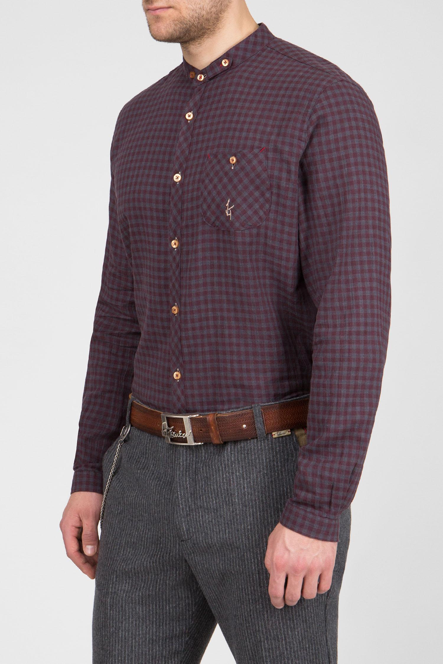 Мужская рубашка в клетку Luis Trenker