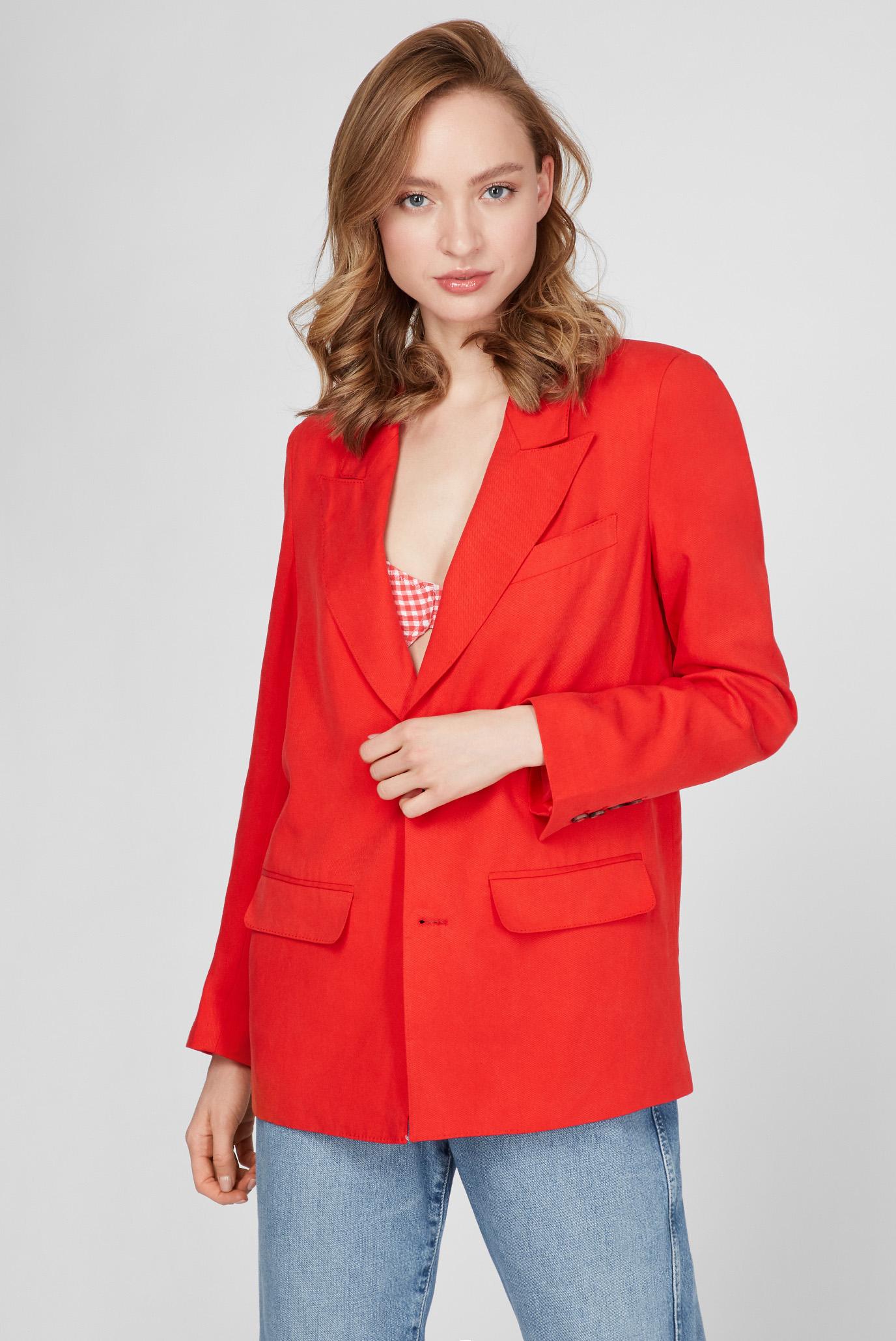 Женский красный жакет LOLA 1