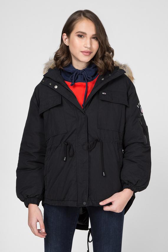 Женская черная куртка TJW EXPEDITION WAISTED
