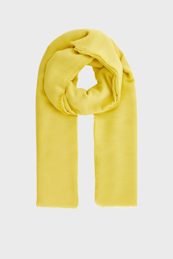 Женский желтый шарф TAKE ME EVERYWHERE