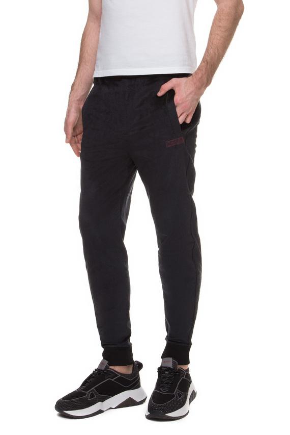 Мужские черные бархатные брюки
